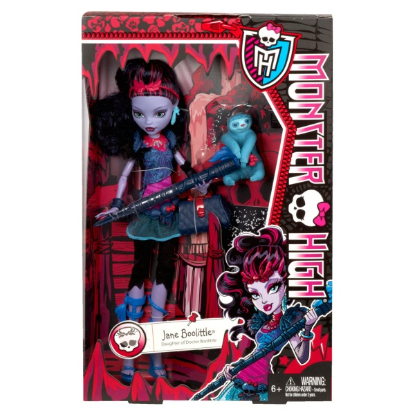 Mattel Monster High Howlywood Jane Boolittle  panenka 27 cm