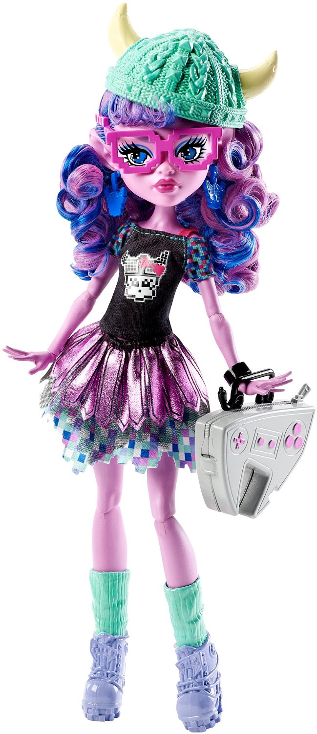 Mattel Monster High Kjersti Trollson Brand-Boo Students panenka 27 cm