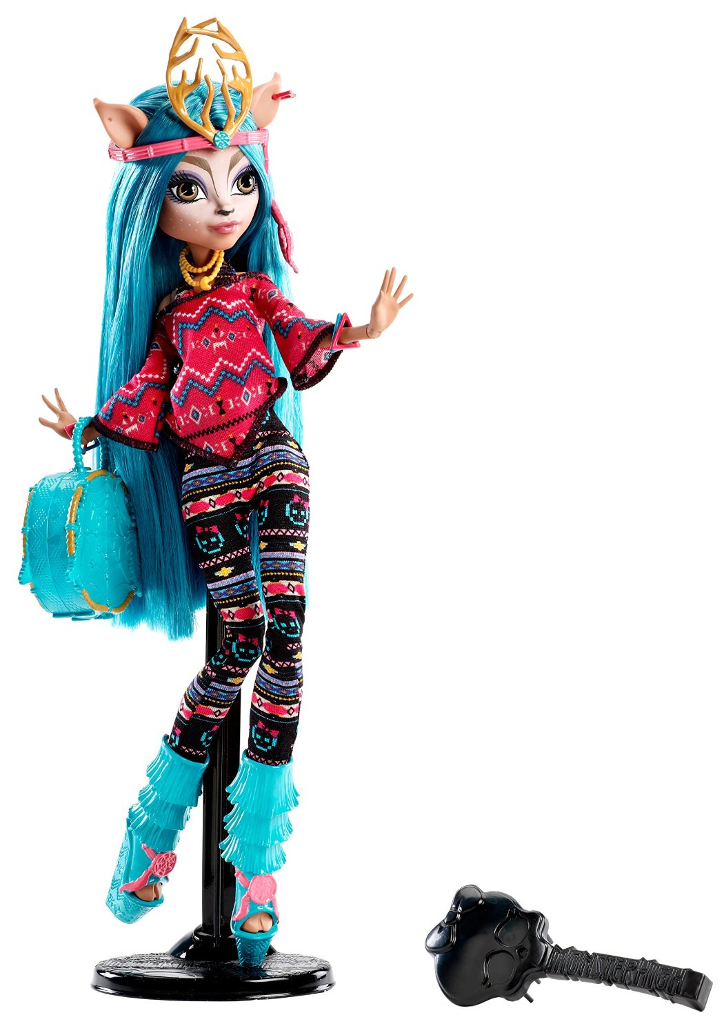 Mattel Monster High Isi Dawndancer Brand-Boo Students panenka 27 cm