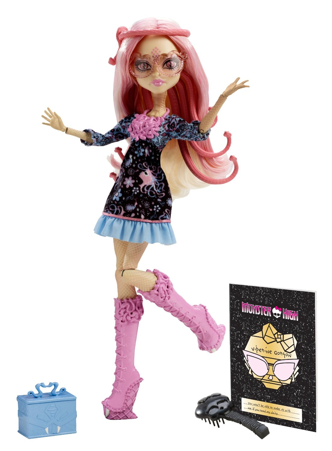 Mattel Monster High Howlywood Viperine Gorgon