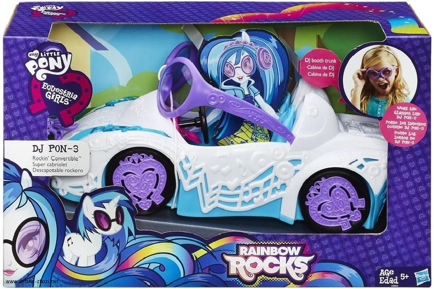 My Little Pony Equestria Girls auto