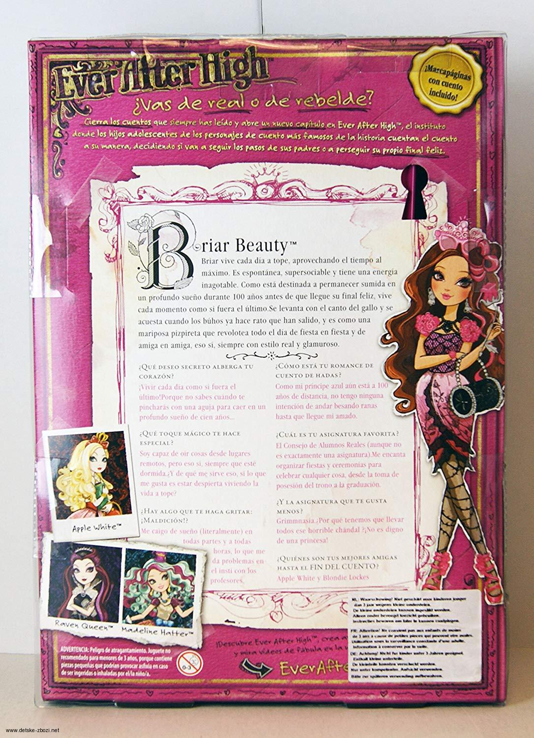 Ever After High Briar Beauty panenka 27 cm