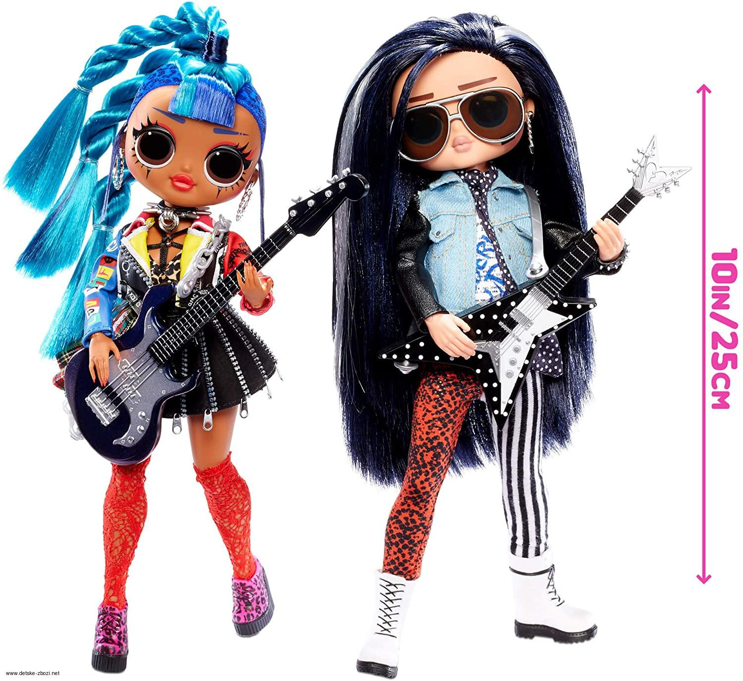 LOL Surprise OMG Remix Rocker Boi & Punk Grrrl Rocková sestava