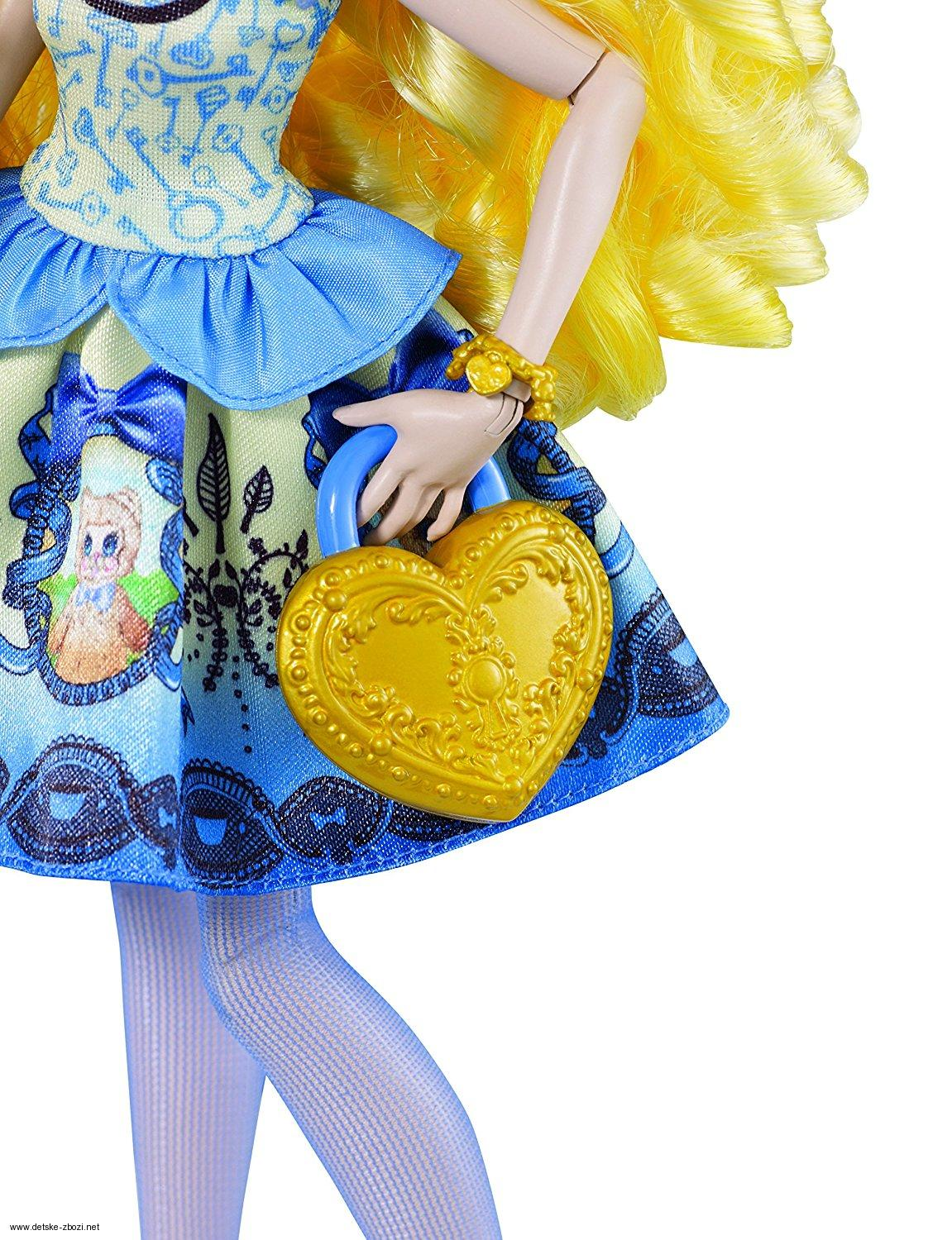 Mattel Ever After High šlechtici Blondie Lockes panenka 27 cm