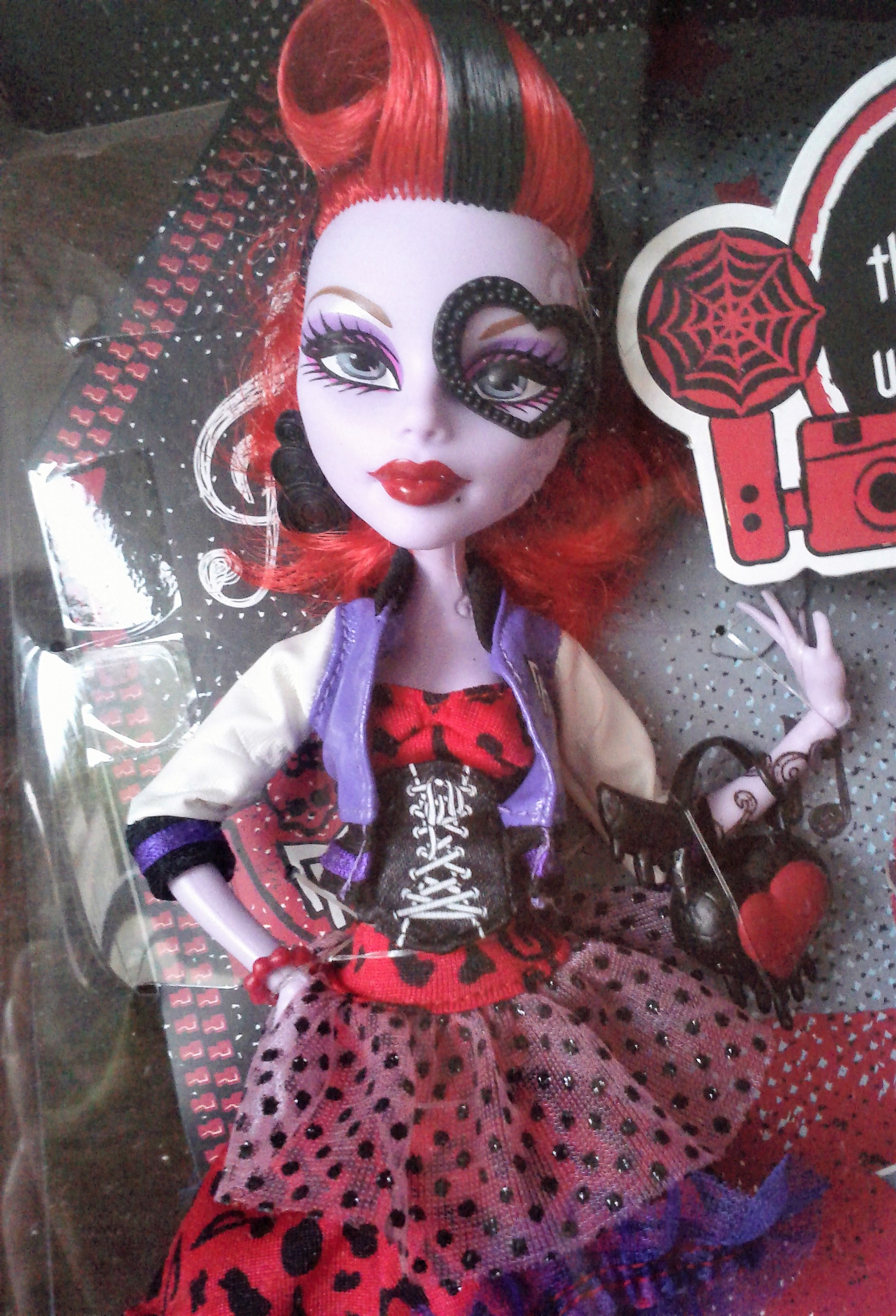 Monster High panenka Operetta Picture day