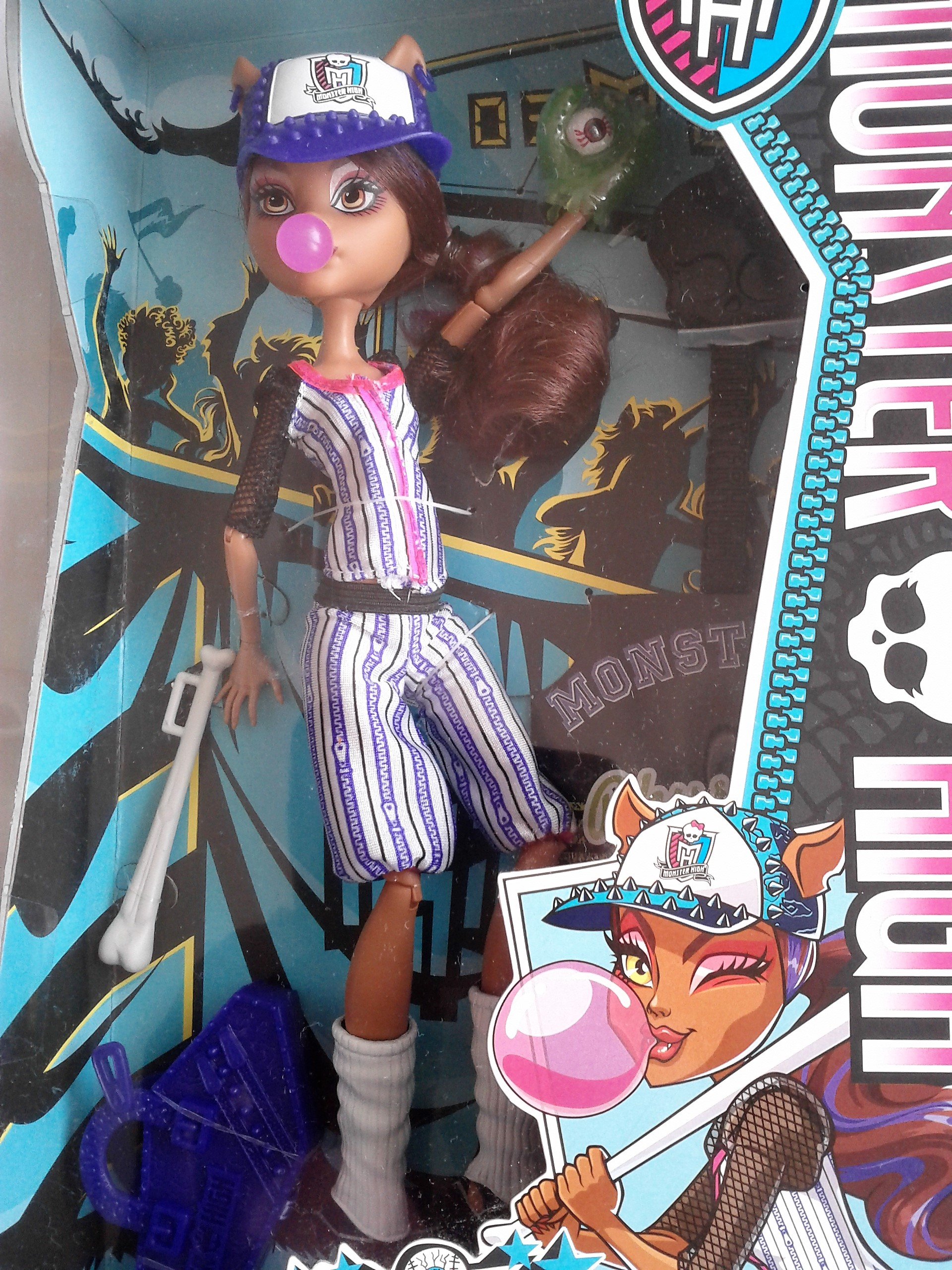 Mattel Monster High Clawdeen Wolf sport