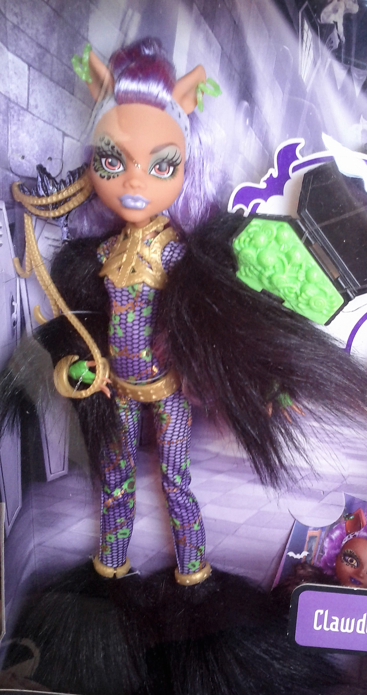 Panenka Monster High Clawdeen Wolf Halloween 27 cm